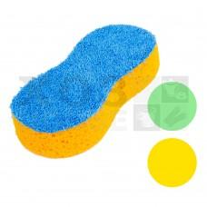 Губка для уборки с микрофиброй в вакуумной упаковке, 22х11.5х4см