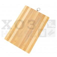 Доска разделочная бамбуковая 14мм, 24х34см