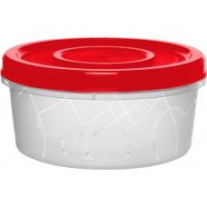 Емкость д/продуктов с завинч. крышкой 0,4л, Сочный томат