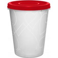 Емкость д/продуктов с завинч. крышкой 1,0л, Сочный томат