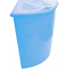 Корзина для белья Aqua 40л угловая (Голубой) (BQ1700ГЛП)
