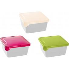 Емкость для хранения и заморозки Браво квадратная 0,45 (Микс) (GR1030МИКС)