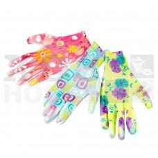 Перчатки трикотажные нейлоновые