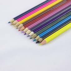 Карандаши цветные, набор 12шт